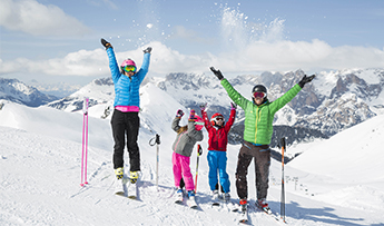 Family holidays in Val di Fassa: a child is free!